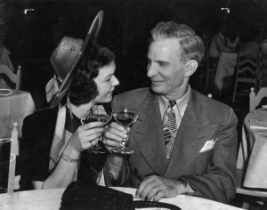 Guy McAfee and his wife, June in 1939.