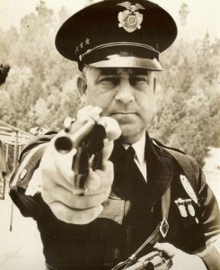 "LAPD Chief Ed ""Two Gun"" Davis"