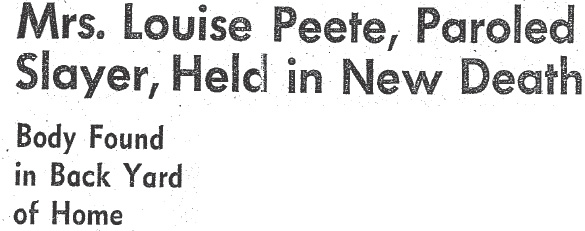 peete new death