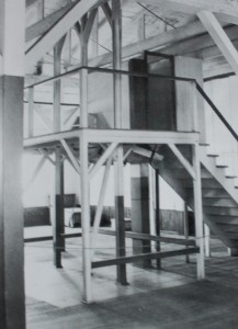 Gallows at San Quentin used from 1893 to 1942. [The images were taken from the San Quentin 150th Anniversary Commemorative Book, ©Turner Publishing Company, Paducah, KY, 2002]