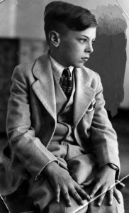 The boy who would be Walter -- Arthur Hutchins, Jr. [Photo courtesy LAPL]