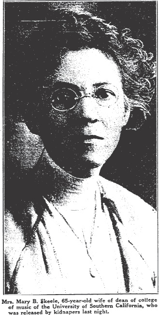 Mrs. Mary Skeele