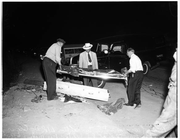 Viola's remains. [Photo courtesy of USC Digital Archive]