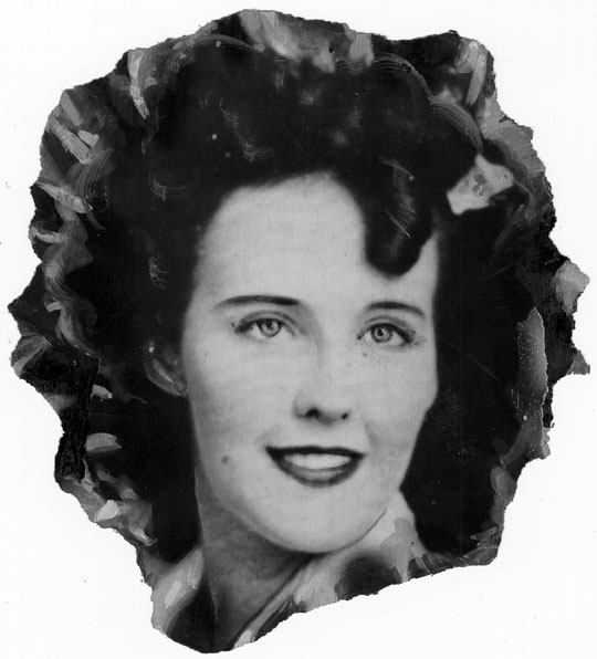 Elizabeth Short aka The Black Dahlia [Photo courtesy LAPL]