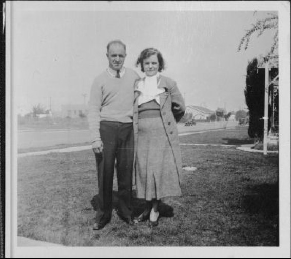 Aggie & Harry [Photo courtesy CSUN Special Collections]