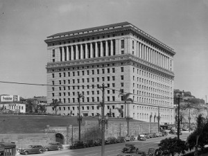 Hall of Justice c. 1939 [Photo courtesy of LAPL]