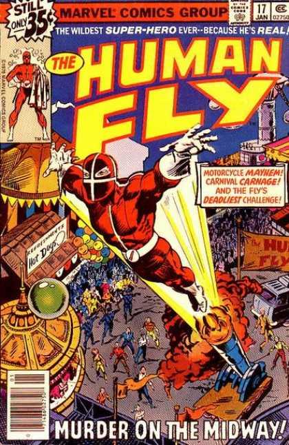 human fly comic