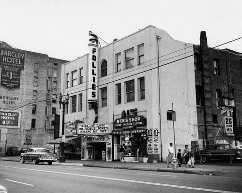 The Follies on Main Street.  [Photo courtesy of LAPL]