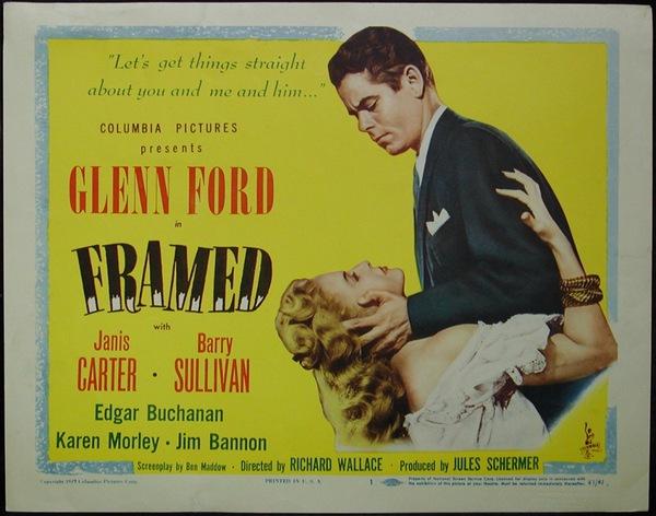 Film Noir Friday: Framed [1947] | Deranged LA Crimes ®