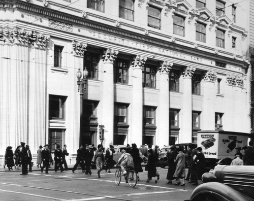 Security-First National Bank c. 1930s [photo courtesy of LAPL]