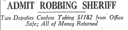 jokers robbery