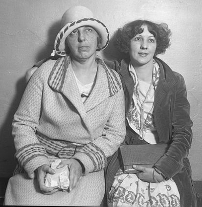 The Great Eleven Club cult leaders, May Otis Blackburn and her daughter, Ruth Wieland