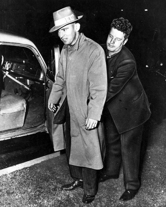 "Robert ""Red"" Manley busted in Eagle Rock. Photo courtesy LAPL."