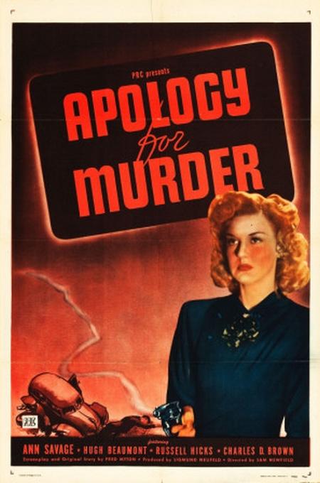 apologyformurder