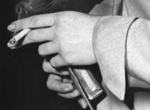 Barbara Graham's hands. [Photo courtesy LAPL]