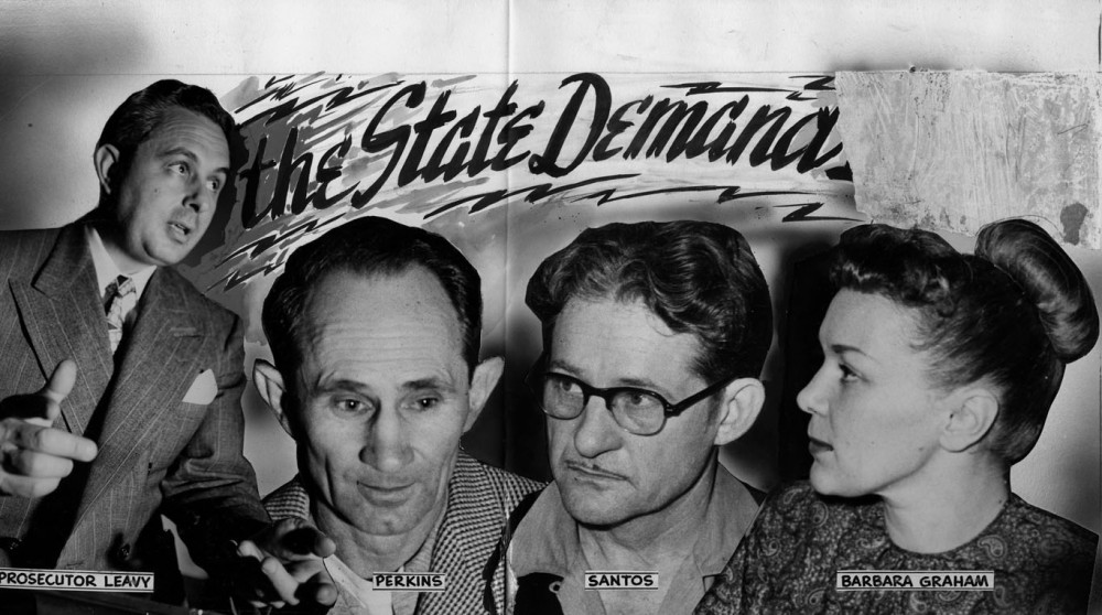 State Demands Death [Photo courtesy of LAPL]