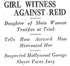 girl witness
