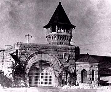 Folsom Prison gate.