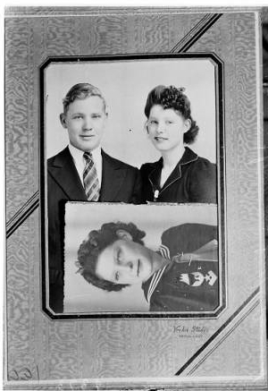 Thomason's family photos. [Photo courtesy of USC Digital Archive]