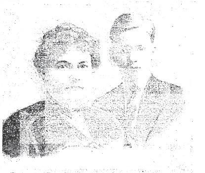 Irene Barrett and Raymond Wright