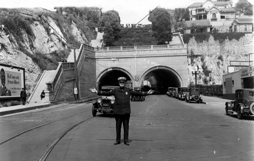 Hill Street Tunnel c. 1922