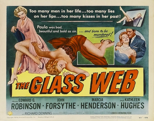 Poster - Glass Web, The_02