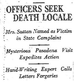 death locale