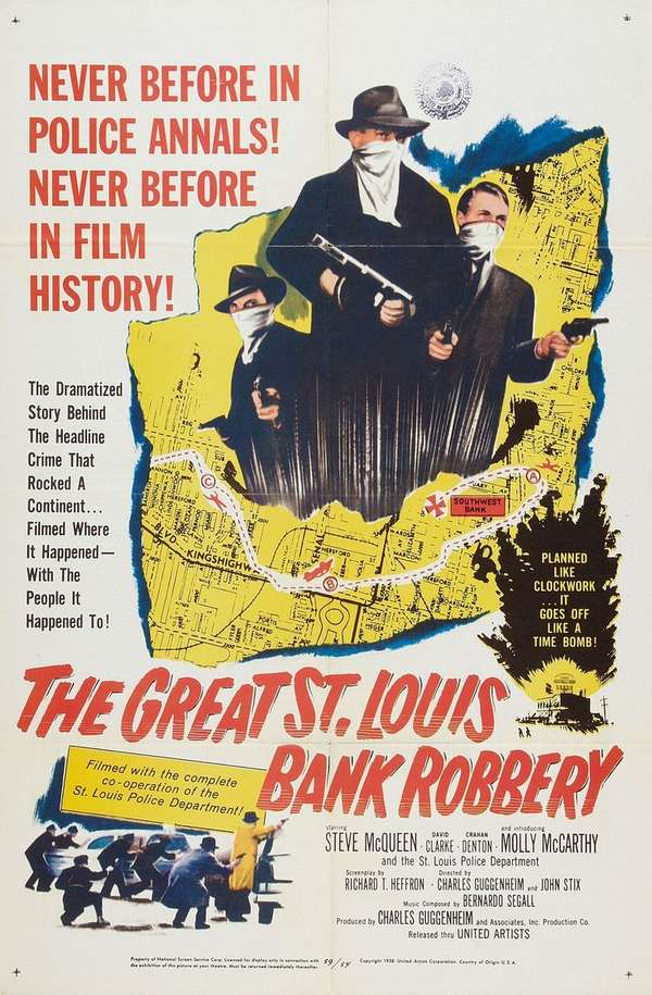 ST LOUIS BANK ROBBERY