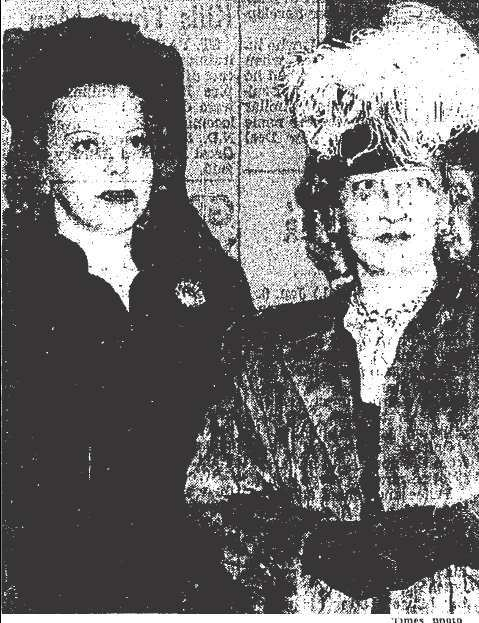 Jeanne Trude and Elyse Pearl Brown