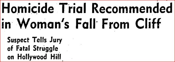 hollywood cliff murder headline3